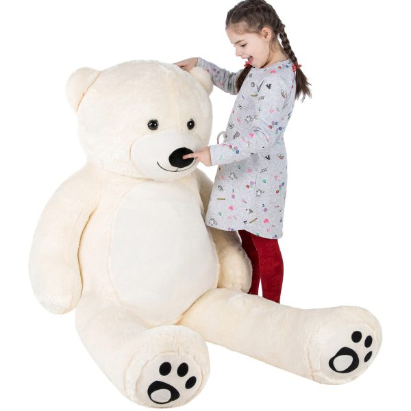 Daney teddy teddy 6foot white 023
