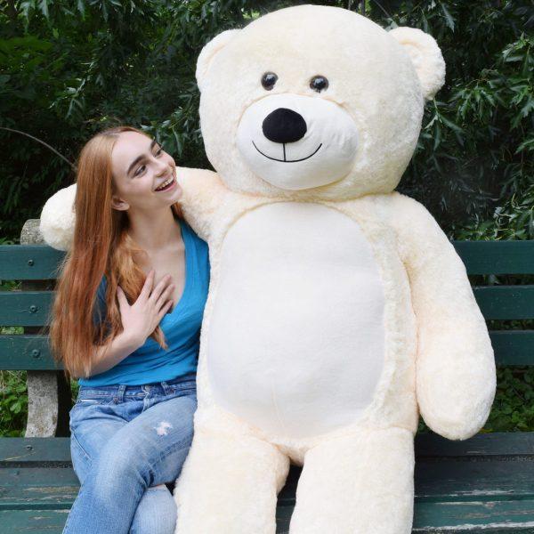 Daney teddy teddy 6foot white 025