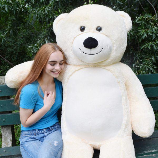 Daney teddy teddy 6foot white 026