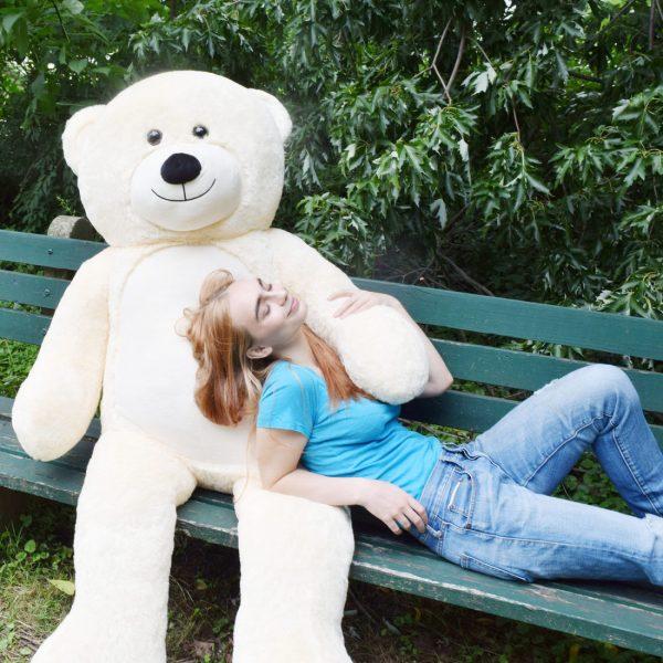 Daney teddy teddy 6foot white 028