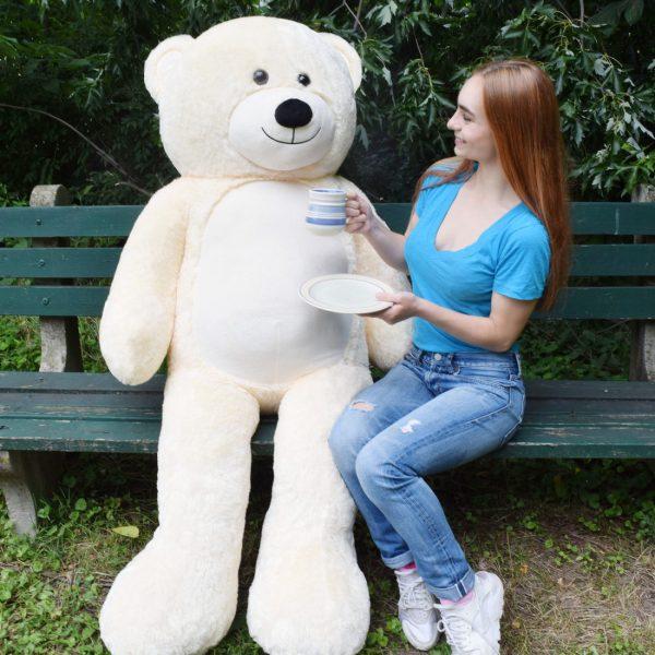 Daney teddy teddy 6foot white 029