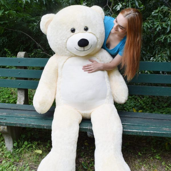 Daney teddy teddy 6foot white 030