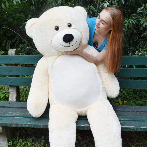 Daney teddy teddy 6foot white 031
